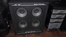 Caixa De Contrabaixo Pezo Bass System Mz 360