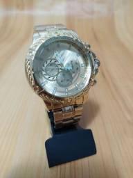 Relógio Banhado a Ouro por $45,00 Avista (Promoção)