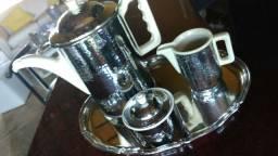 Conjunto de Café, Alemanha, marca WMF antigo,