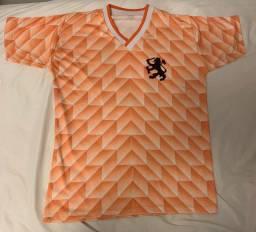 Camisa Holanda Eurocopa 1988