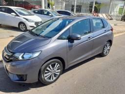 Honda Fit EXL - CVT - Cinza - 2015