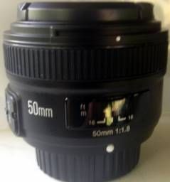 Lente 50mm Yougnuo para Nikon