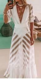 Vestido Skazi branco perfeito!!