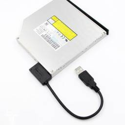Usb to 7+6 13Pin Slim Sata/Ide CD dvd rom Optical Drive Cable Converter Adapter