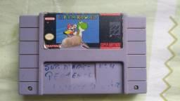 Fita Cartucho Super Mario World Original Salvando Nintendo