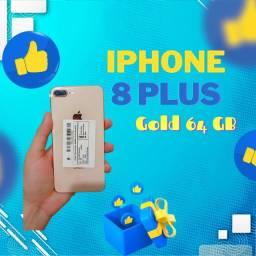 Super Promoção Iphone 8 Plus Dourado 64 GB