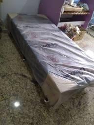 Base cama box solteiro ortobom