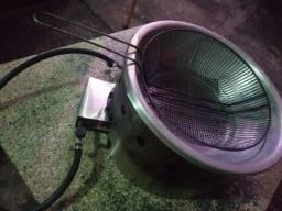 Fritadeira a gás preciso compra uma  elétrica