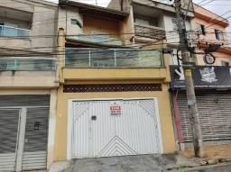 Sobrado para aluguel, 4 quartos, 1 suíte, 3 vagas, Vila Bela Vista - Santo André/SP