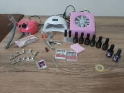 Kit Alongamento de unhas
