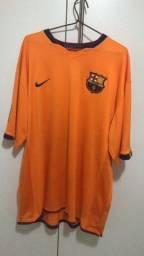 Camisa oficial do Barcelona tamanho xl