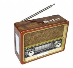 Radios Antigos Retro Vintage Portátil Am Fm Bluetooth