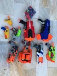 9 arminhas de brinquedo