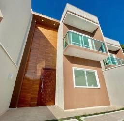 Título do anúncio: Casas Duplex, 6m X 25m, 110m2, 3 Suítes, Churrasqueira e 2 Vagas de Garagem