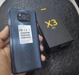 IMPERDÍVEL! Xiaomi Poco X3 128GB/6GB RAM! Com Garantia! 12x170,84 no cartão!