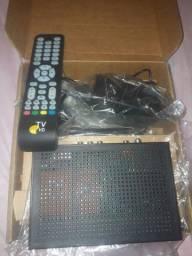 Decodificador de TV Digital por satélite