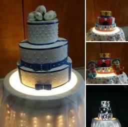 Aluguel ,venda e fabricação personalizada de bolos FAKE EVA  !!