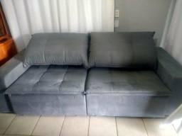Sofa Retratil C/ 250 NOVO - Fast Entrega