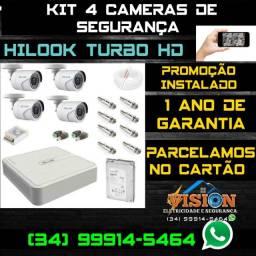 Câmeras de Segurança Hilook