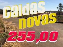 CALDAS NOVAS PAC//// QUE CABE NO BOLSO 255 POR MES