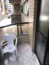 Apartamento à venda com 1 dormitórios em Guilhermina, Praia grande cod:CL300