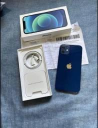 iPhone 12 novo azul 64gb