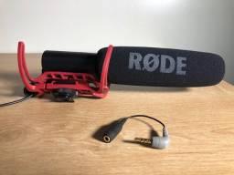 Rode VideoMic + Adaptador Rode Sc4
