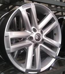 Rodas VW Amarok aro 20 5x112 prata Seminovas Parcelo Boleto e Cheque até 24x