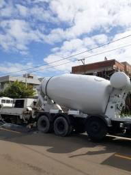 Concreto e bomba de concreto
