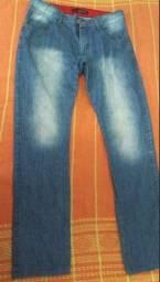 Calça jeans masculina [quiksilver]
