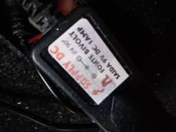 Fonte 9V para pedais de guitarra ou pedaleiras 5 saídas Supply Dc