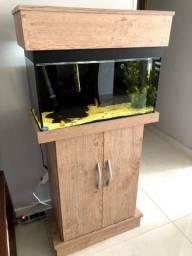 Aquario Peixe Móvel Completo 60lts (ver Descrição)