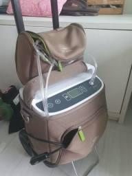 Concentrador  de oxigênio portátil SimplyaGo+ carrinho Philips