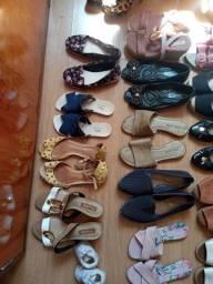 Calçados usados