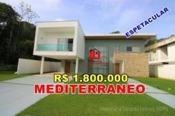 Casa duplex Mediterrâneo com 4 Suítes