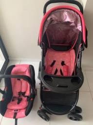 Carrinho e bebê conforto Cosco Travel Nexus