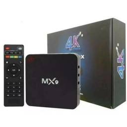 Conversor Smart TV Box MX9 4K Ultra HD Wi-Fi Android<br><br>