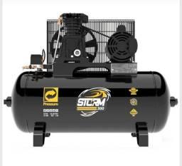 Compressor 100 litros 10 pés  Pressure monofásico