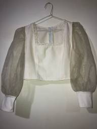 Título do anúncio: Blusa feminina branca M