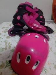 Vendo patins pink