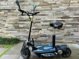Scooter eletrica 1000w 48v praticamente zero