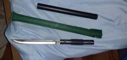 Bastão faça espada 3 em 1 com fio de corte