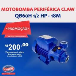 Motobomba periférica QB60H 1/2 HP?