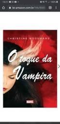 Livro O Toque da Vampira (Novo)