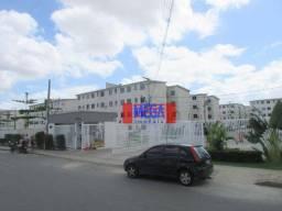 Título do anúncio: Apartamento com 2 dormitórios para alugar, 50 m² por R$ 600,00/mês - Araturi (Jurema) - Ca