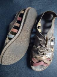 Sandália de couro n35