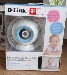 Babá eletrônica wifi camera IP D-Link DCS-825L