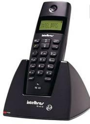 Telefone sem fio digital com identificador de chamadas.