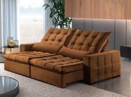 Grande Promoção  sofá  retrátil e reclinável lindo!