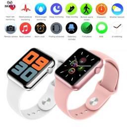 Smartwatch Ultra B59 - Multifunções Digitais - disponível na cor rosa